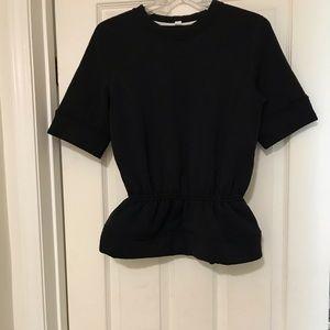 Rare Lululemon Top with peplum waist
